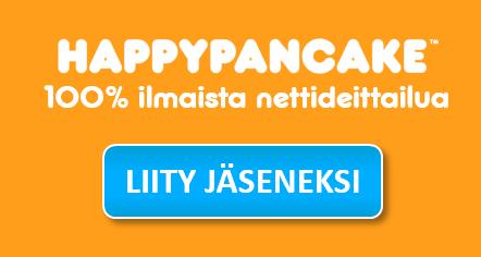 happypancake ei toimi